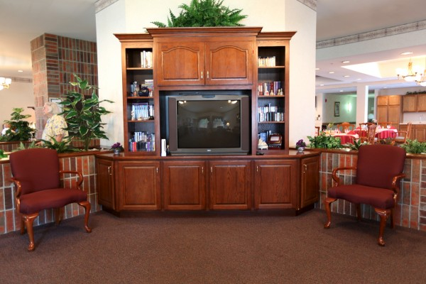Maplewood of Mt. Pleasant: Lobby